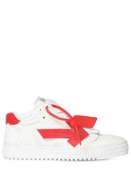 Off White 35Mm 3.0 Suede Low Sneakers White