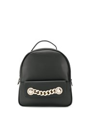 Versace Jeans Chain Link Backpack Black