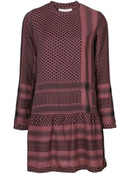 Cecilie Copenhagen Patterned Dress Red