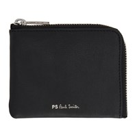Paul Smith Ps By Black Ps Stripe Cnr Zip Wallet 79 Black