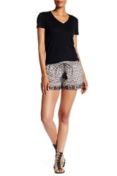 Soft Joie Magee Print Short White