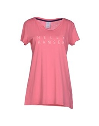 Helly Hansen T Shirts Pink