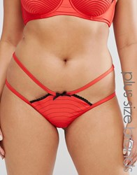 Playful Promises Curve Portia Flame Red Brief Red