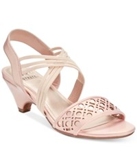 Impo Elora Stretch Dress Sandals Women's Shoes Blush