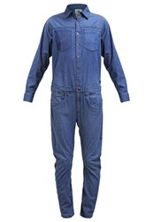G Star Gstar Arc Boiler Suit Jumpsuit Niva Blue Denim