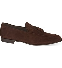 Magnanni Tassel Loafers Brown