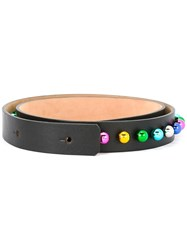 Dsquared2 Disco Ball Waist Belt Black
