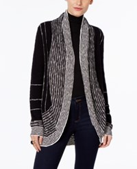 Inc International Concepts Open Front Cardigan Only At Macy's Black White