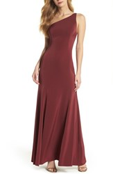 Watters Jelina One Shoulder Gown Luxardo