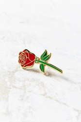 Big Bud Press Red Rose Pin