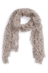 Women's Sole Society Dot Print Scarf