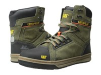 Caterpillar Concave Hi Steel Toe Burnt Olive Men's Work Boots