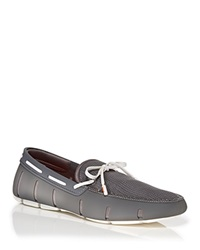 Swims Lace Loafers Grey White