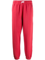 Polo Ralph Lauren Cropped Track Trousers Pink