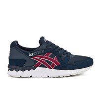 Asics Men's Gel Lyte V Trainers Indian Ink Burgundy
