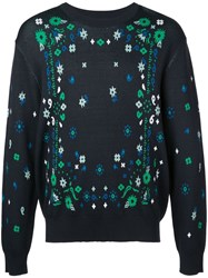 Opening Ceremony Collegiate Sweater Blue
