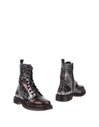 Boemos Ankle Boots Maroon
