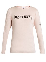 Bella Freud Rapture Cashmere Sweater Light Pink