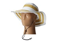 San Diego Hat Company Rbl4783 4.5 Sun Brim Hat With Adjustable Chin Cord White Caps