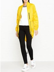Versus By Versace Packaway Lightweight Parka Yellow