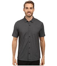 Travis Mathew Hines Woven Black Men's Clothing