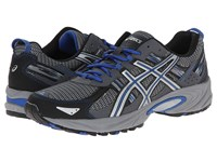Asics Gel Venture 5 Silver Light Grey Royal Men's Running Shoes Gray