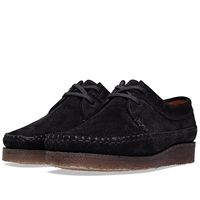 Padmore And Barnes M387 Willow Black Suede