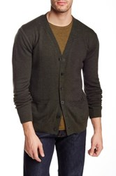 Apolis Alpaca Blend Cardigan Green
