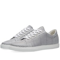 Comme Des Garcons Shirt Triangle Print Sneaker White