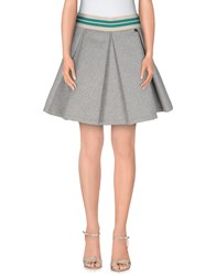 Souvenir Clubbing Skirts Mini Skirts Women Light Grey