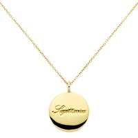 Cachet London Gold Plated Swarovski Crystal Sagittarius Pendant Necklace Gold