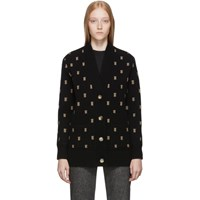 Burberry Black Palena Cardigan