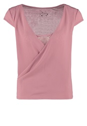 Naf Naf Ocala Basic Tshirt Wood Rose Pink