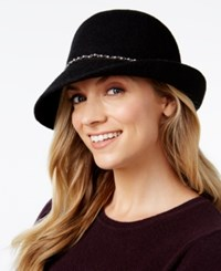 Inc International Concepts Packable Imitation Pearl Cloche Created For Macy's Black
