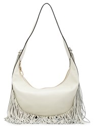 Elizabeth And James Fringed Shoulder Bag White