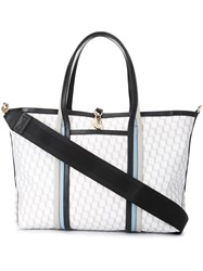 Pierre Hardy Printed Shopper Tote White
