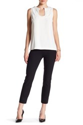 Vince Stitch Seam Front Legging Black