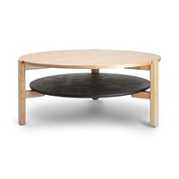 Umbra Hub Coffee Table Black Natural