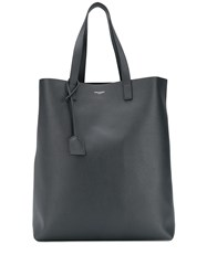 Saint Laurent Bold Shopping Tote Grey