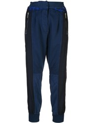 Haider Ackermann High Waisted Track Pants Black