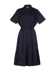 Les Prairies De Paris Dresses Knee Length Dresses Women Dark Blue