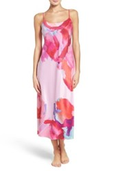 Natori Abstract Nightgown Pink
