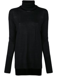 Kitx Keepers Polo Knit Women Silk Cashmere M Black