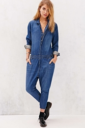 One Teaspoon Utility Jumpsuit Blue