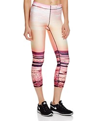 Zara Terez Neon Sunset Capri Leggings