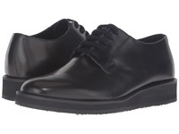 Marni Brushed Leather Lace Up Oxford Brown