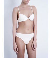 Bodas Cotton Basics Padded Bra White