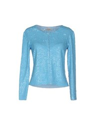 P.A.R.O.S.H. Suits And Jackets Blazers Women Turquoise
