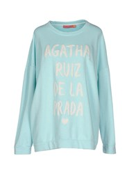 Agatha Ruiz De La Prada Topwear Sweatshirts Women Orange