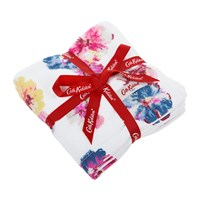 Cath Kidston Guernsey Flowers Face Cloth Set Of 3